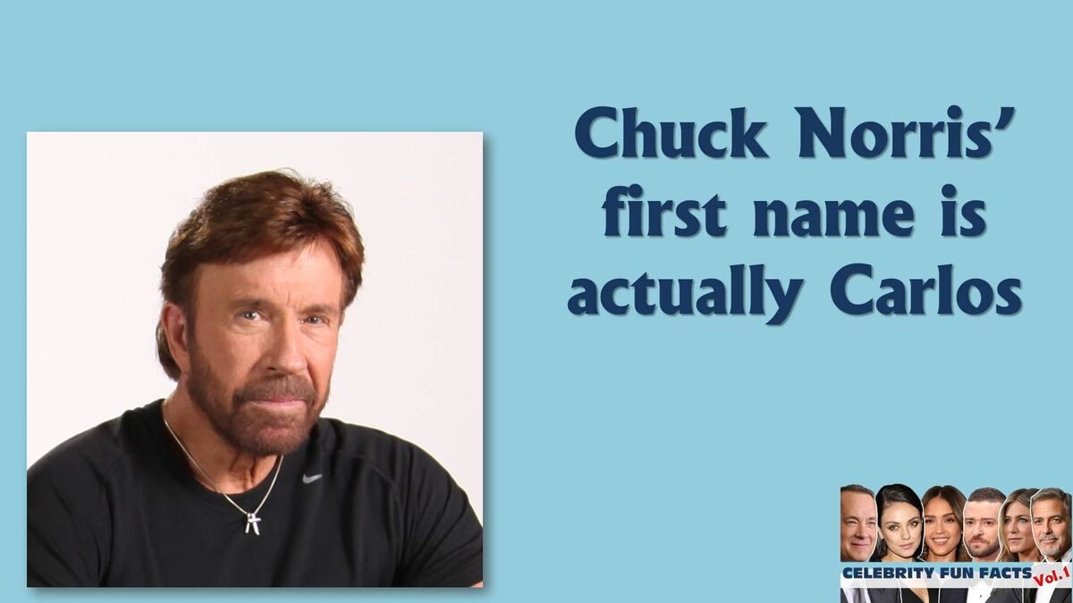 Celebrity Fun Facts  image number null