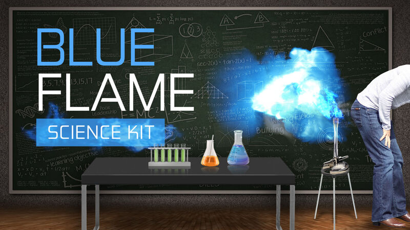 DYM's Blue Flame Science Kit