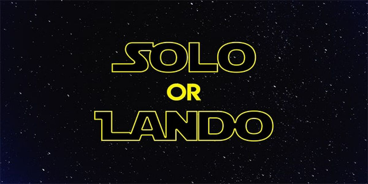 Solo or Lando image number null