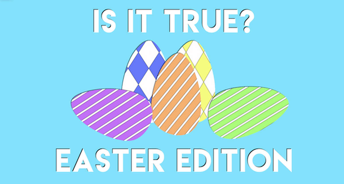 Is it True? Easter Edition image number null