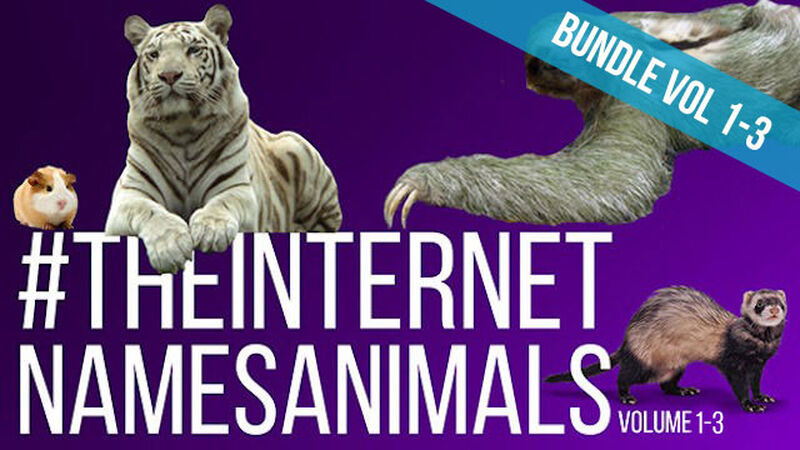 The Internet Names Animals Bundle: Volume 1-3