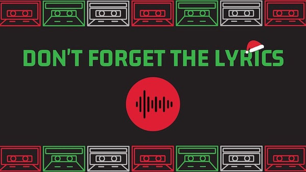 Don't Forget The Christmas Lyrics image number null