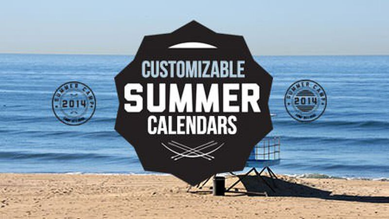 7 Customizable Youth Ministry Calendars