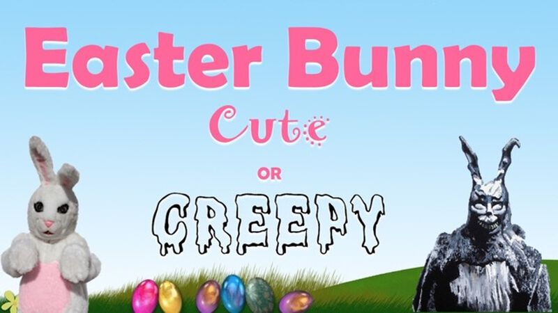 Easter Bunny: Cute or Creepy