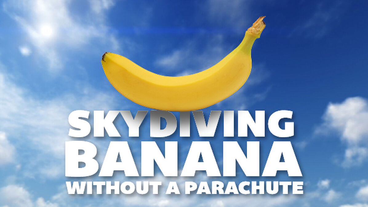 Skydiving Banana image number null