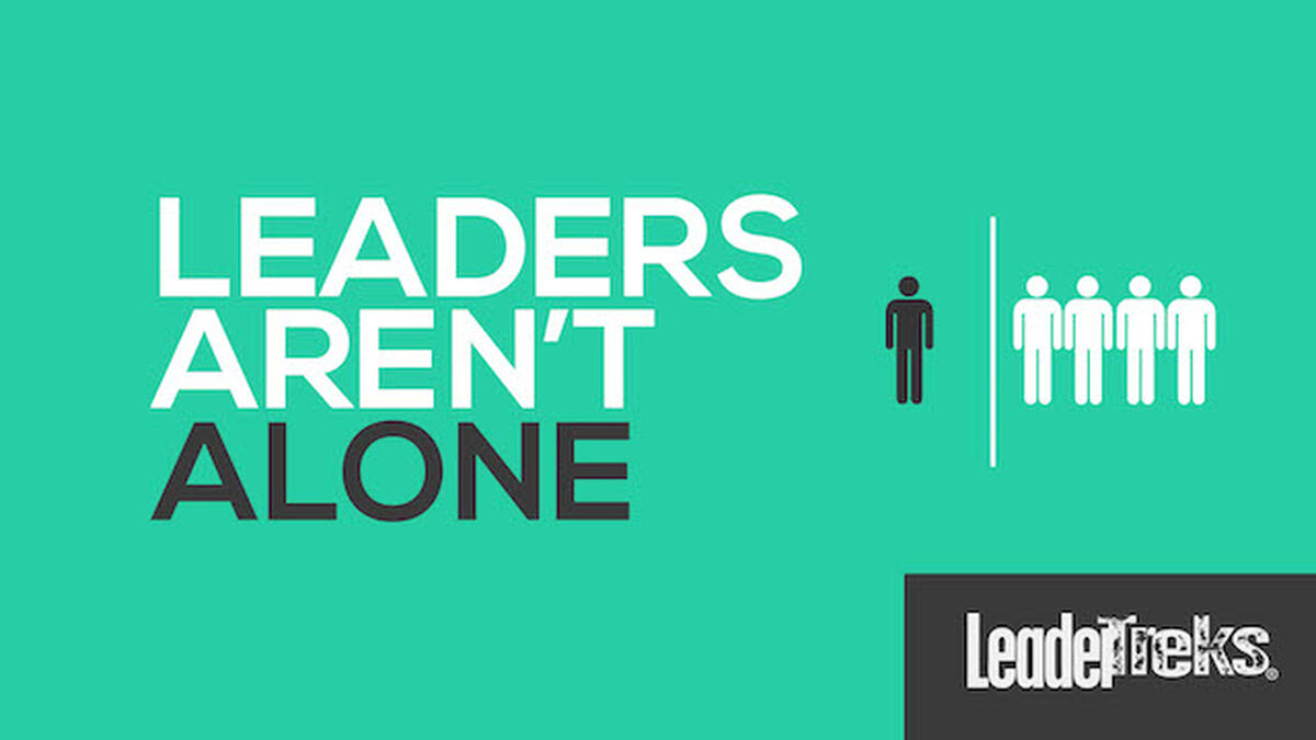 Leaders Aren't Alone image number null