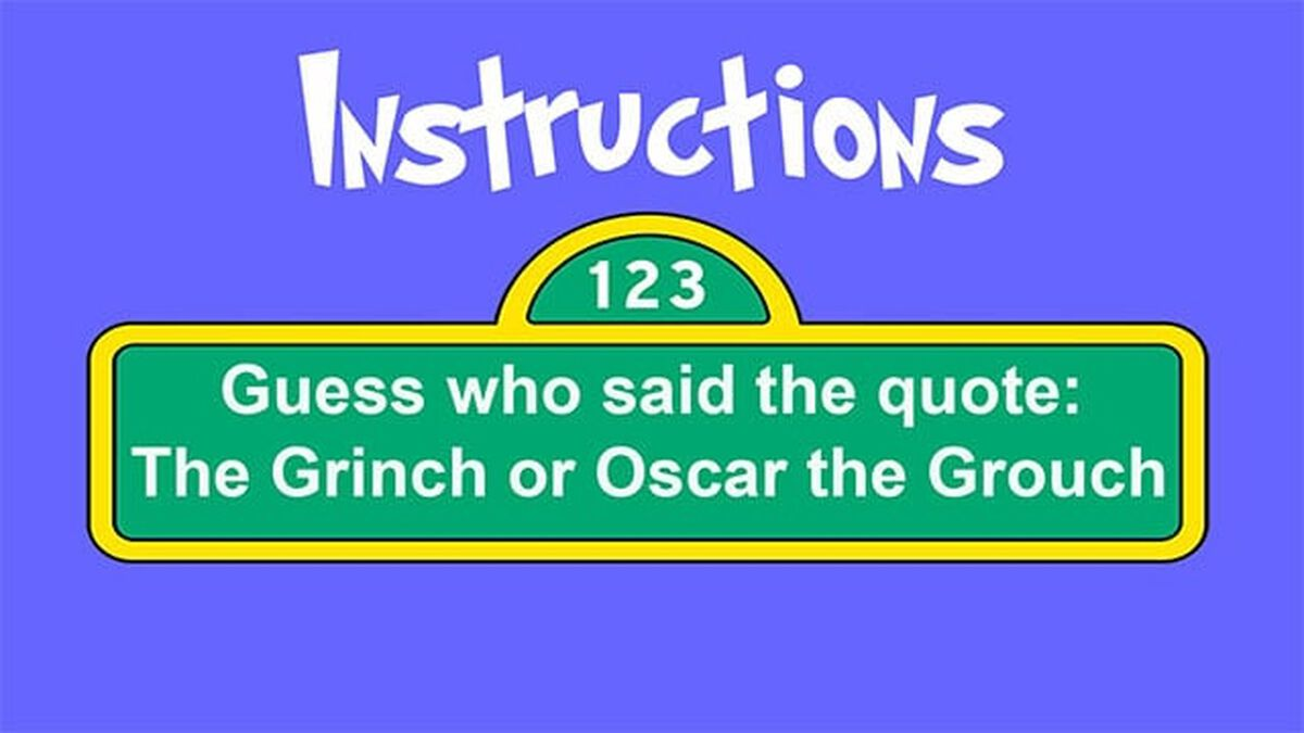 Grinch or Grouch image number null