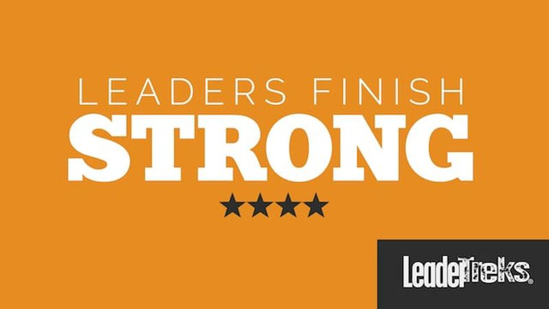 Student Leaders Finish Strong