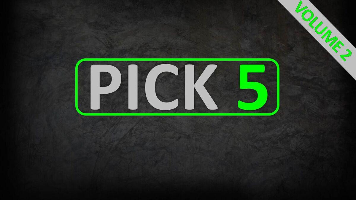 Pick 5: Volume 2 image number null