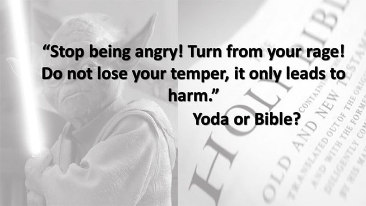 Yoda or Bible image number null