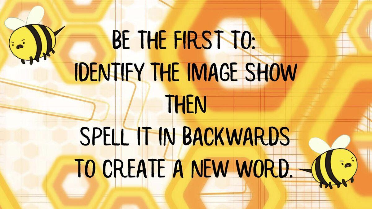 Reverse Spelling Bee image number null