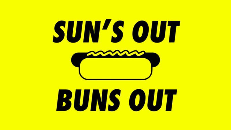 Sun's out, Buns out Hot Dog Trivia