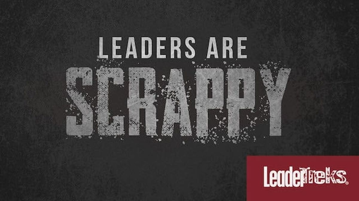 Leaders Are Scrappy image number null