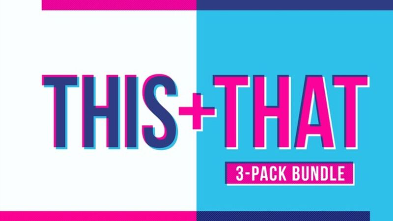 THIS + THAT: 3-Pack Game Bundle