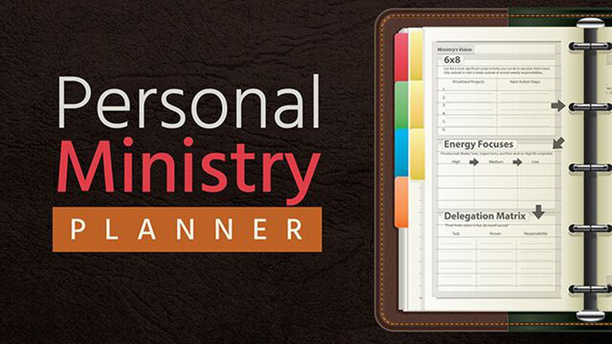 Personal Ministry Planner image number null