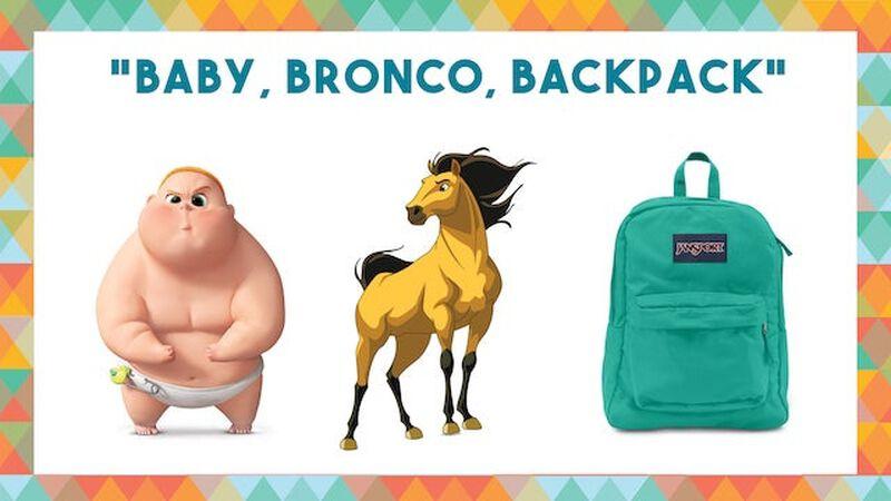 Baby, Bronco, Backpack
