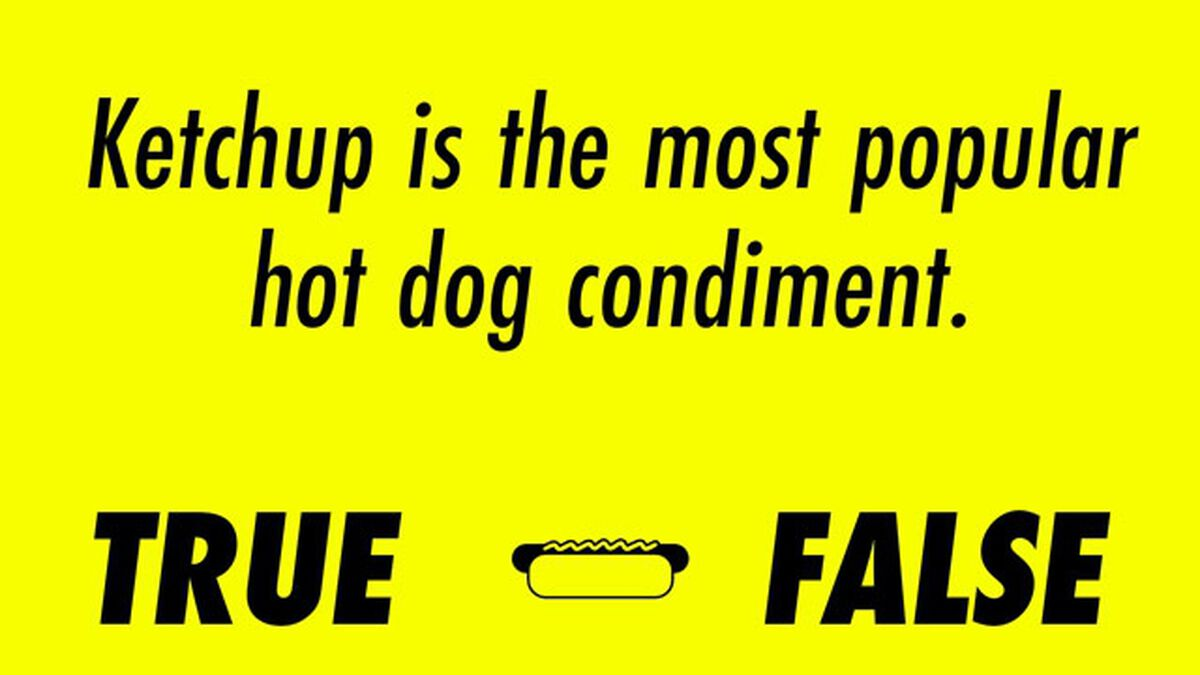 Sun's out, Buns out Hot Dog Trivia image number null