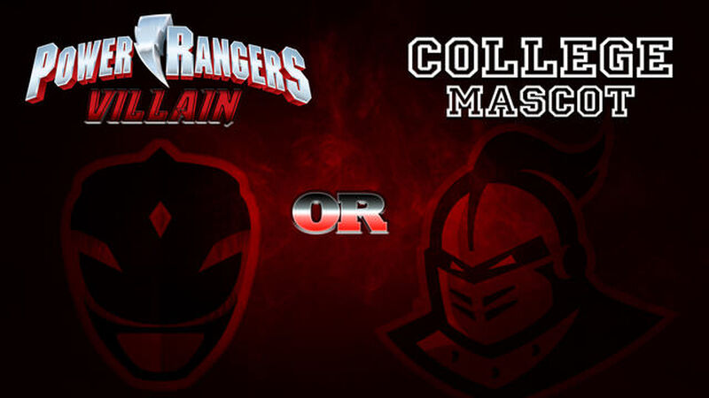 Power Ranger Villain or College Mascot