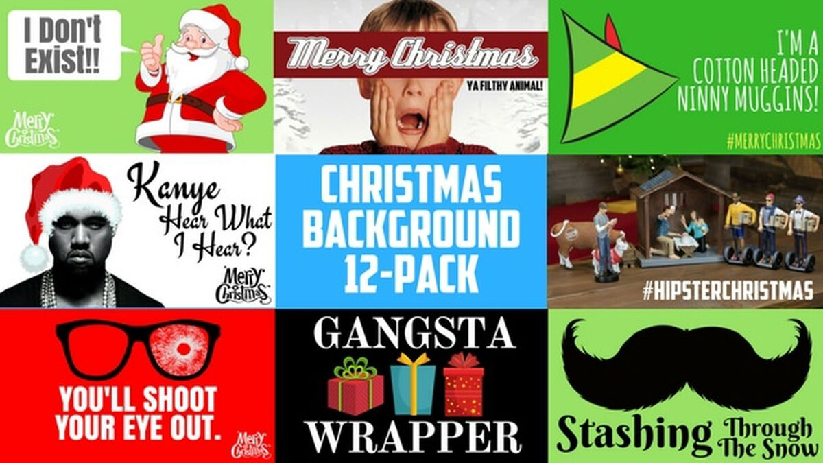 Christmas Background 12-Pack image number null