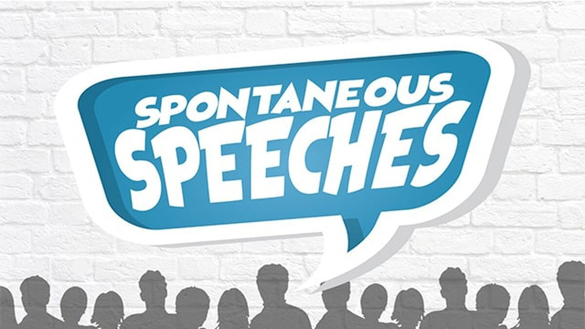 Spontaneous Speeches image number null