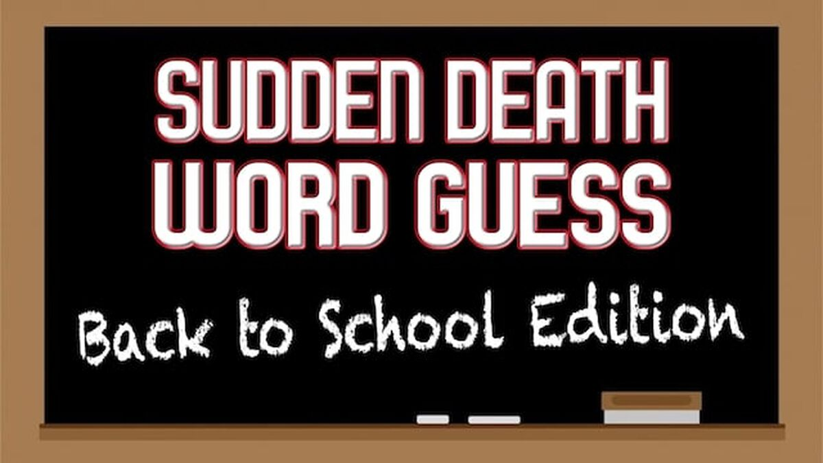 Sudden Death Word Guess image number null
