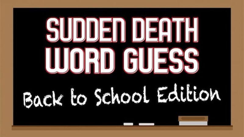 Sudden Death Word Guess