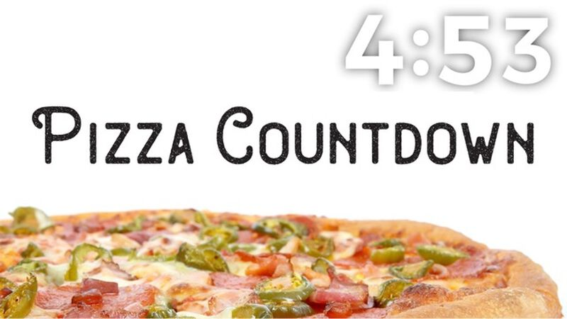 Pizza Countdown