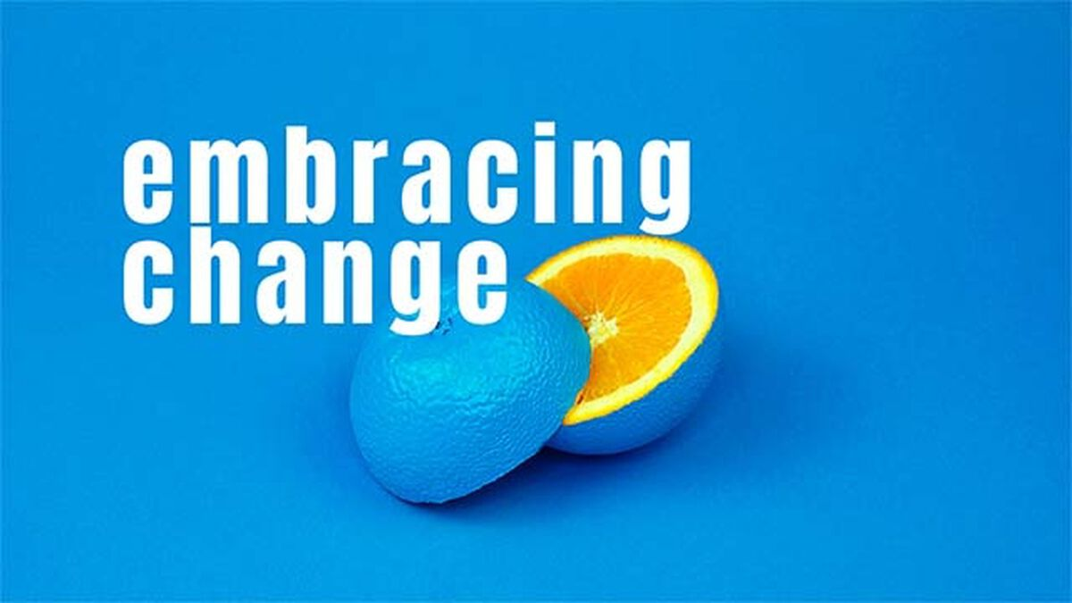 Embracing Change image number null