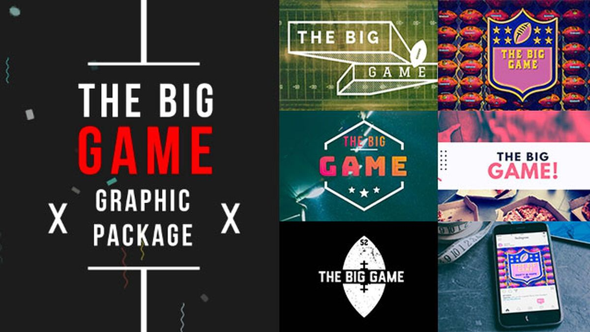 The Big Game Graphics Package image number null