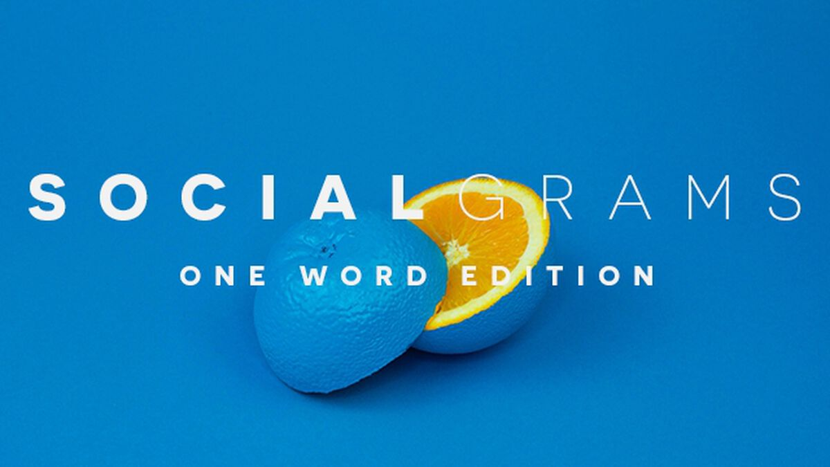 Social Grams One Word Edition image number null