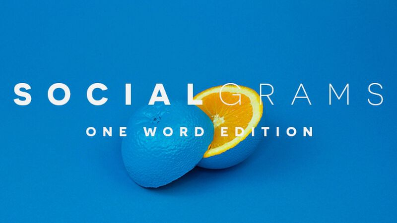 Social Grams One Word Edition