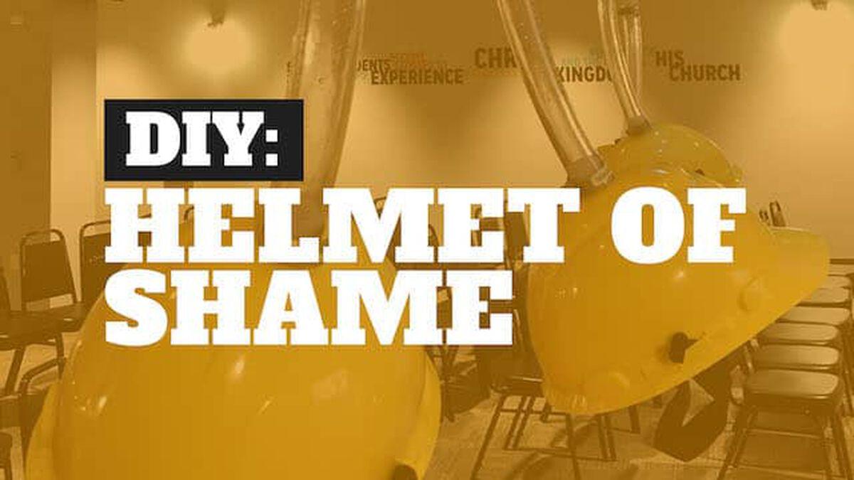 DIY Helmet of Shame image number null