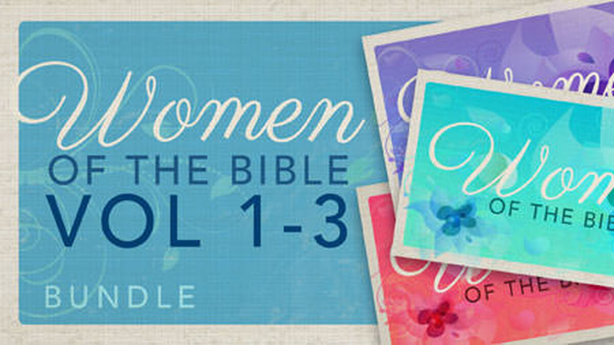 Women of the Bible Vol 1-3 Bundle image number null