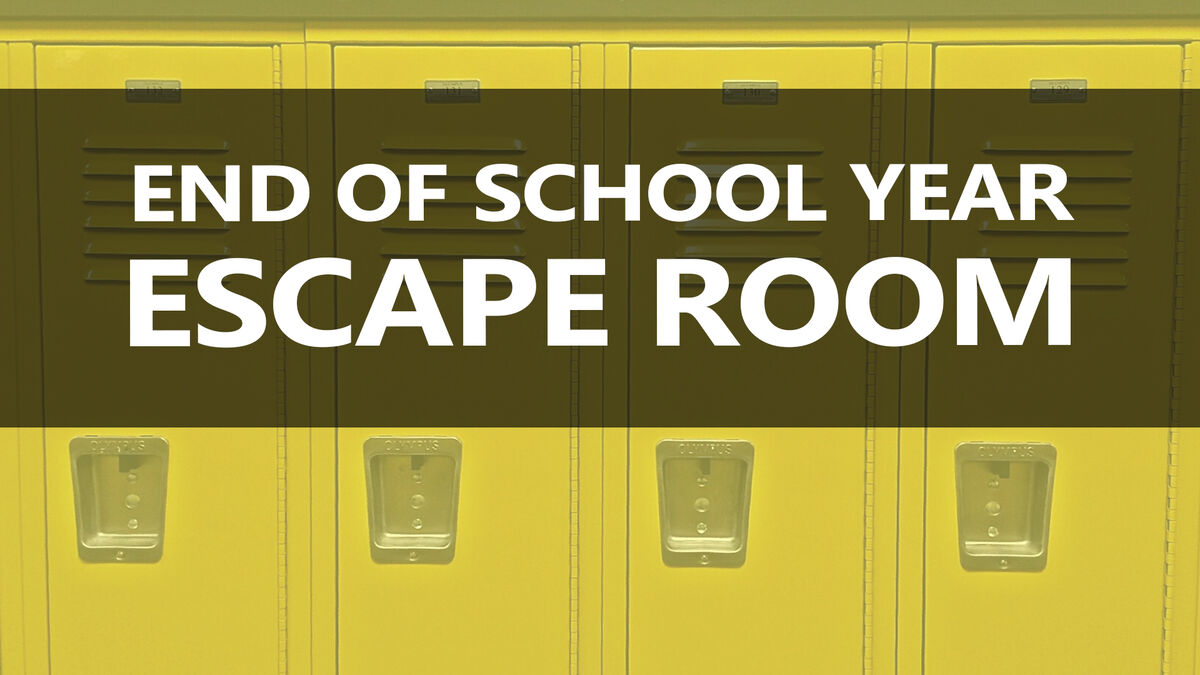 "Back to School / End of the Year ""Escape Room"" image number null"