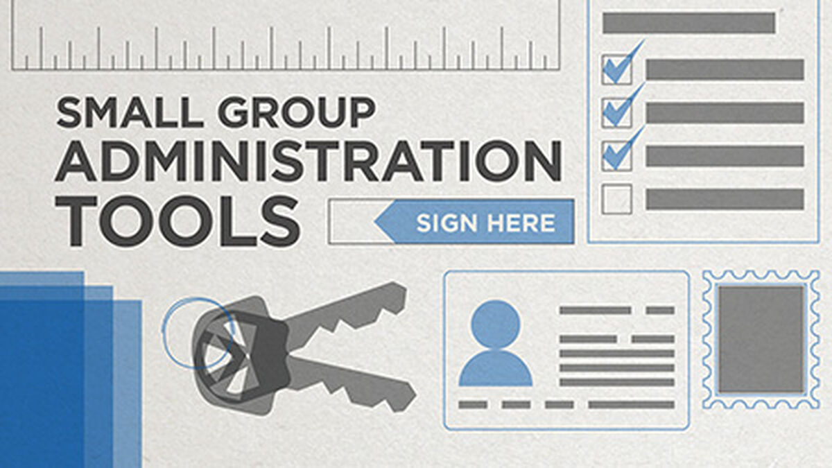Small Group Administration Tools image number null