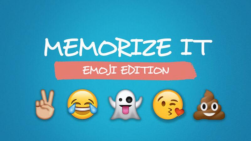 Memorize It: Emoji Edition