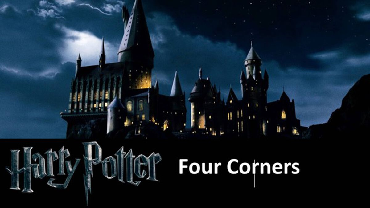 Harry Potter Four Corners image number null