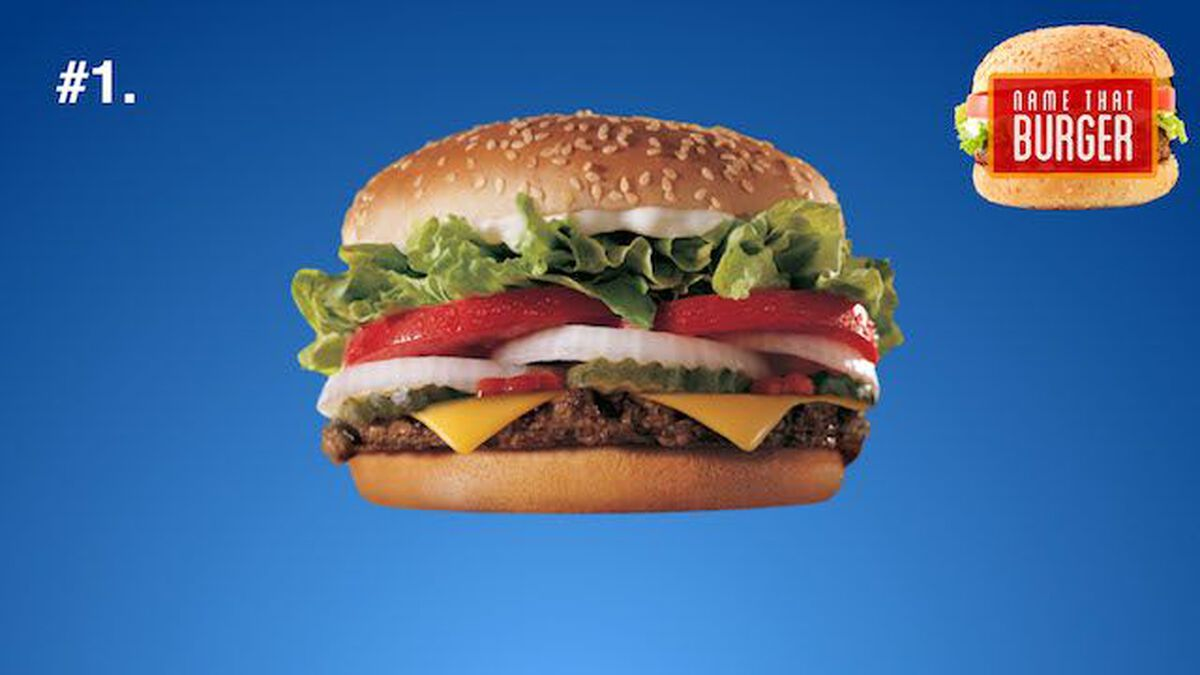 Name That Burger: Volume 1 image number null