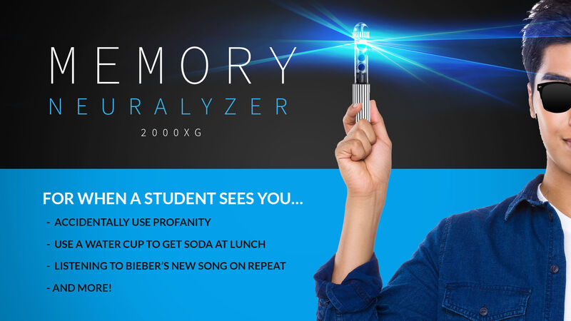 Youth Ministry Memory Neuralyzer 2000XG