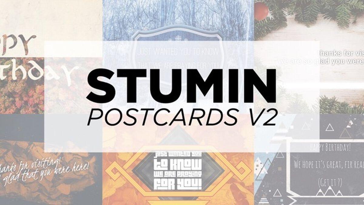 Stu Min Postcards - Seasons image number null