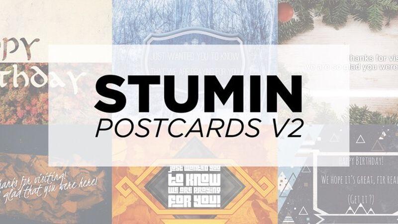 Stu Min Postcards - Seasons