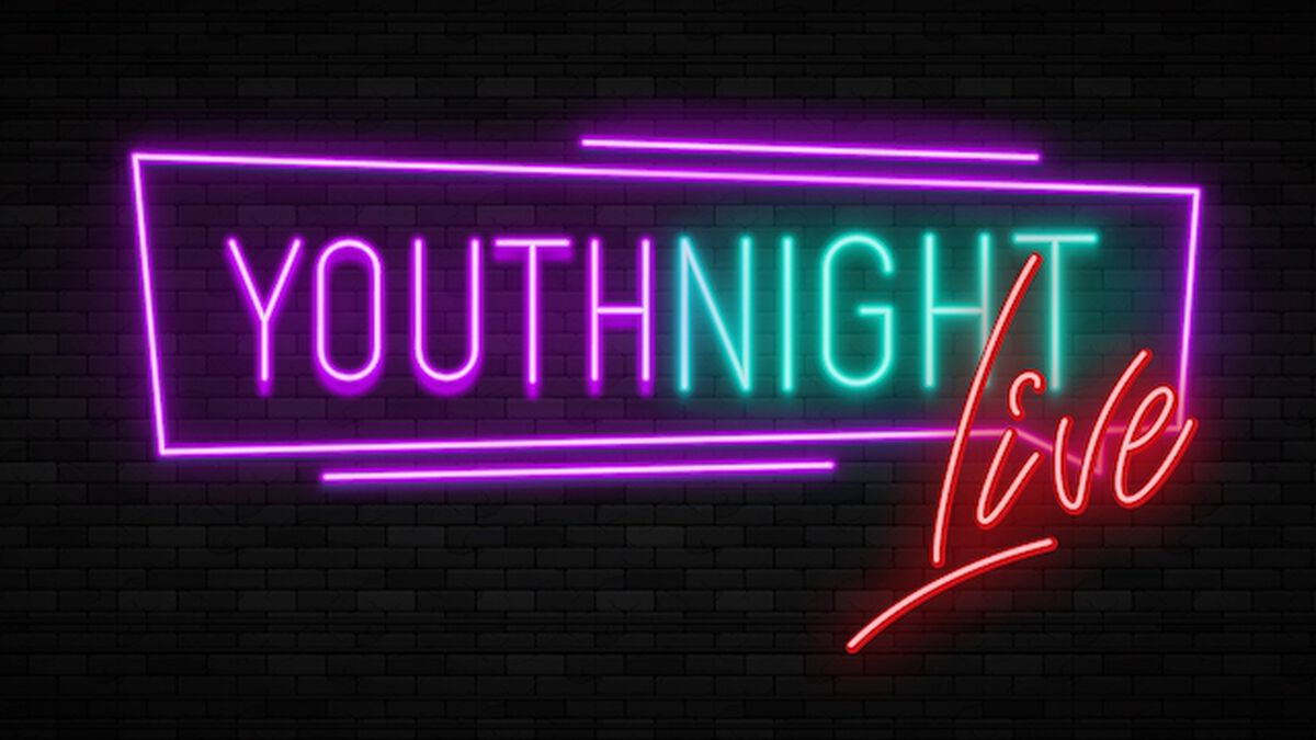 Youth Night Live! Online Youth Group Template image number null