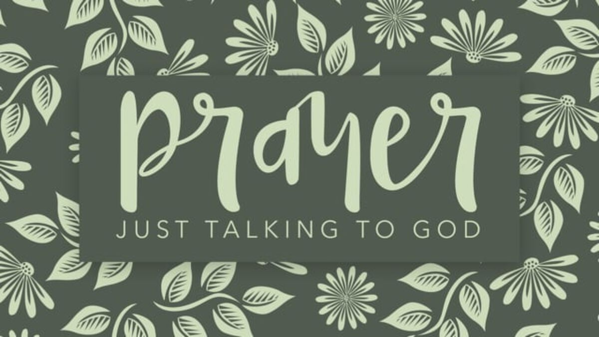 Prayer: Just Talking to God image number null