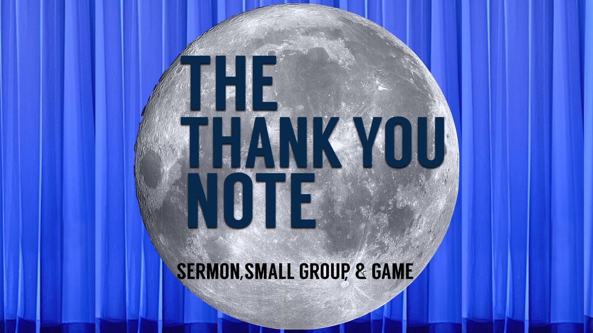 The Thank You Note image number null
