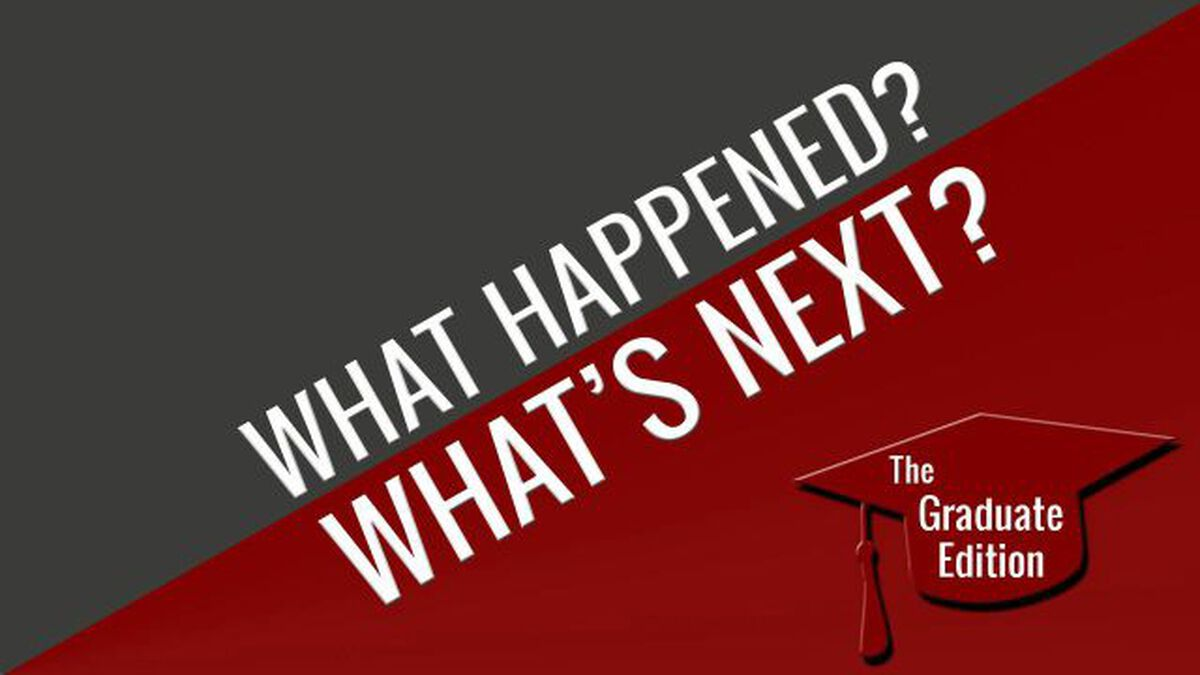 What Happened/What's Next – Grad Edition image number null