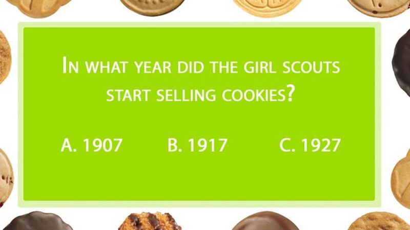 Girl Scout Cookie Quiz