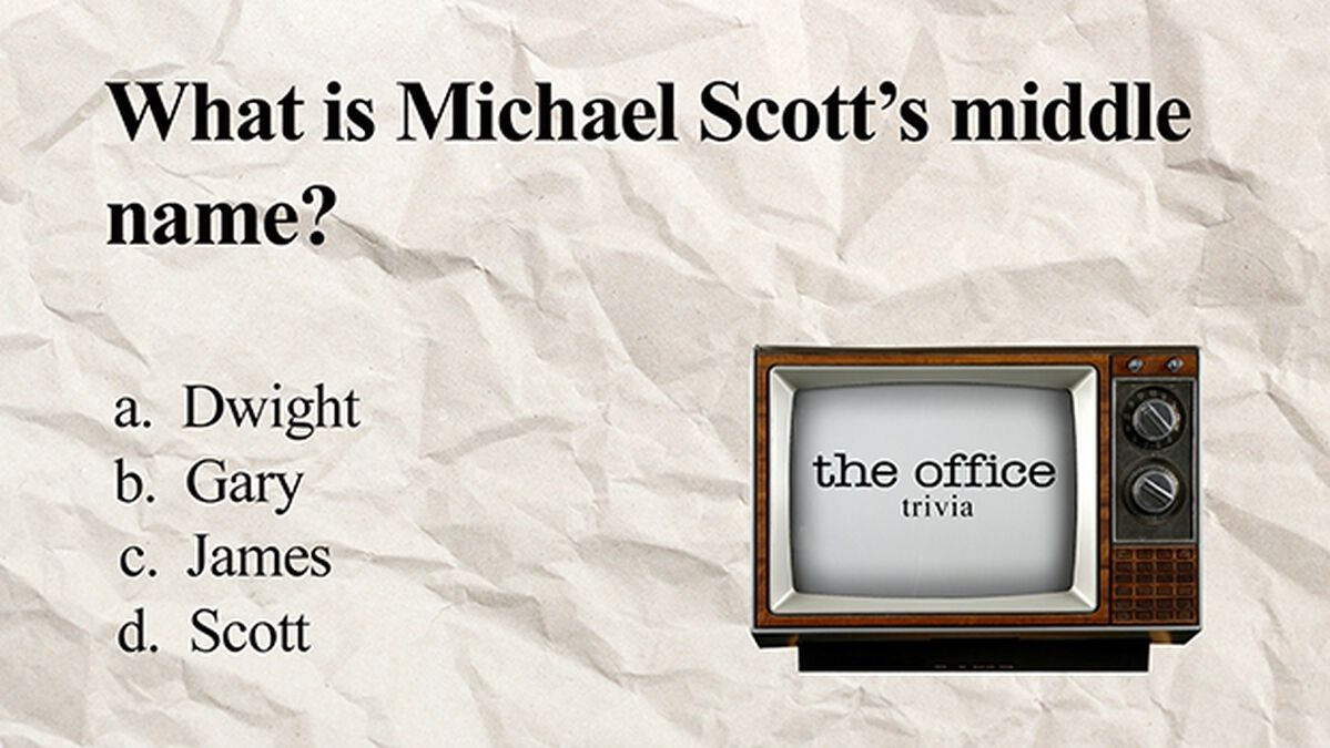 The Office Trivia image number null