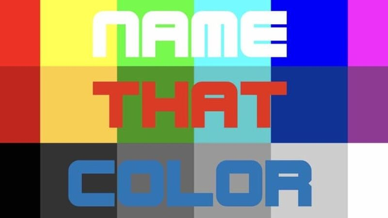 Name That Color
