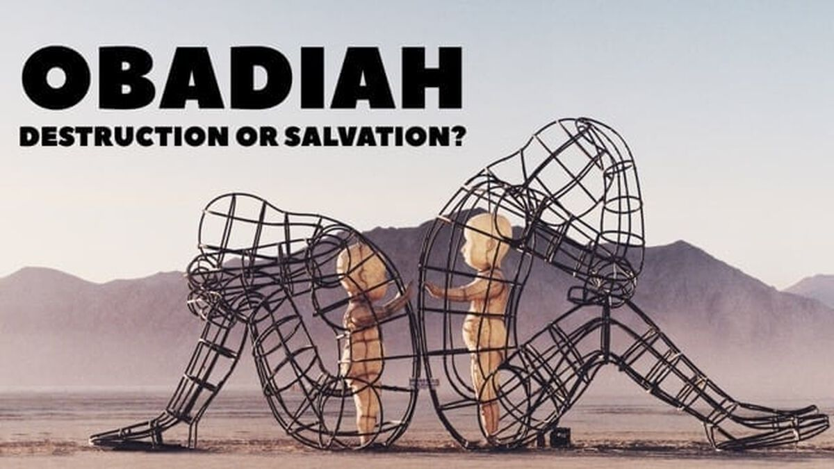 Obadiah: Where Do You Find Your Joy? image number null