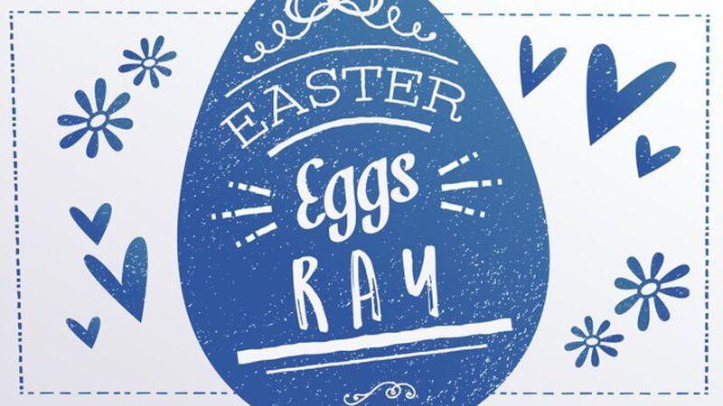 Easter Eggs-Rays
